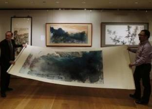 لوحة صينية حطمت الأرقام القياسية للبيع بـ8.3 مليون دولار