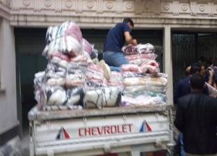 """""""تضامن الإسكندرية"""" توزع 200 بطانية للأسر الأولى بالرعاية"""