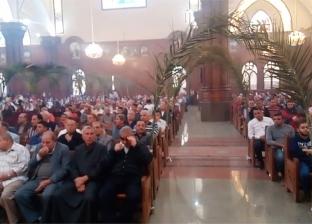 احتفالات أحد السعف في كنيسة مارجرجس بالفيوم
