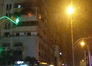 الدفاع المدني تسيطر على حريق بأحد الأبراج السكنية في الإسماعيلية