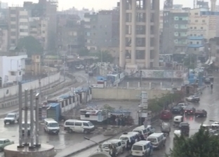 الامطار في شوارع محافظات الجمهورية