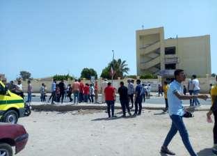 """طلاب أحياء بجنوب سيناء: """"الامتحان مش متوقع وفي مستوى المتوسط"""""""