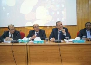نائب رئيس جامعة طنطا يترأس المؤتمر الدولي للجامعات في الأردن