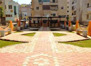 إنشاء حديقة عامة وسط العمارات السكنية بالكورنيش الشرقي بسوهاج