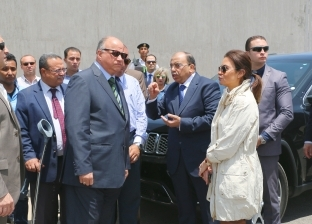"""""""نصر"""" و""""شعراوي"""" يتابعان أعمال تطوير المنطقة الصناعية والحرة بمدينة نصر"""