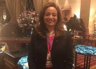 «أمانى»: تقدمت بالشكر للرئيس «السيسى» قبل افتتاح القمة.. وفكرة الترشح لم تخطر ببالى