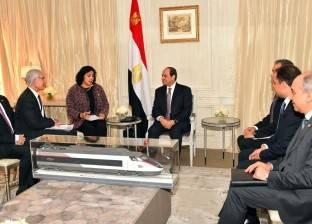 """رئيس """"نافال"""" العسكرية لـ""""السيسي"""": أداء القوات البحرية المصرية """"رفيع"""""""