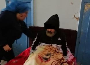 """بعد إنقاذه من حياة الشارع.. """"عوض"""" يرفض الإقامة بدار المسنين: زحمة أوي"""