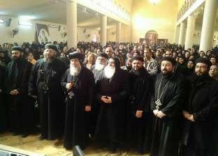الكنيسة تعقد لقاء روحي لخدمة أرامل قطاع غرب المنيا