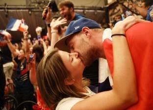 فرحة الفرنسيين بالفوز بكأس العالم للمرة الثانية في التاريخ