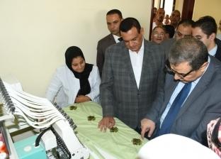 وزير القوى العاملة يتفقد مركز التدريب المهني بحوش عيسى