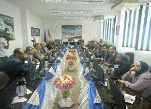مجلس جامعة أسوان يبحث أعمال بدء امتحانات الفصل الدراسي الثاني