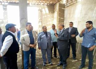 رئيس جامعة المنيا يتابع تطوير ورفع الطاقة الإنتاجية بالبحوث الزراعية