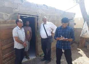 رفع مقاسات 170 منزلا لتركيب أسطح بالمناطق الأكثر احتياجا بجنوب سيناء