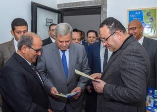 """رئيس """"القابضة للمياه"""" يفتتح مركز خدمة عملاء كوم الدكة بالإسكندرية"""