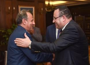 في عيد الأضحى.. آخر صورة تجمع بين محافظي الإسكندرية الجديد والسابق