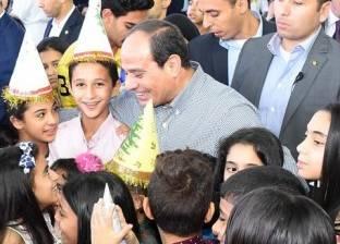 الرئيس يشارك أسر وأبناء الشهداء احتفالية عيد الفطر
