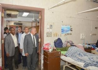الجمال يطمئن على انتظام العمل بالمستشفى الجامعي خلال شم النسيم