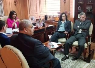 وزيرة الهجرة تبحث بدء مشروع توحيد قاعدة بيانات المصريين بالخارج