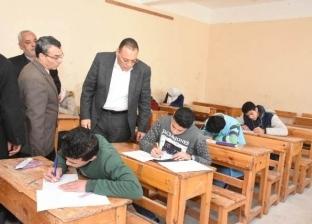 محافظ الشرقية يتفقد لجان امتحانات الشهادة الإعدادية