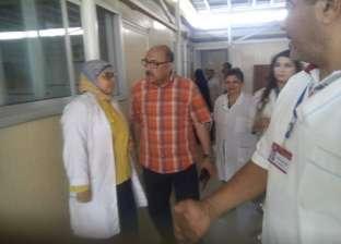 """وكيل """"صحة أسيوط"""" يتفقد مستشفى الرمد ويوجه بسرعة الانتهاء من تطويرها"""