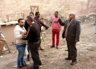 """""""غرب الإسكندرية"""" يشن حملات مكثفة لإزالة التعديات على أراضي الدولة"""