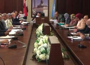 بالصور  محافظ الإسكندرية يوجه بسرعة تنفيذ تقنين أراضي أملاك الدولة