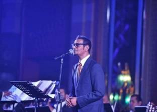 بالصور| رابح صقر يحيي حفلا ساهرا في أحد فنادق القاهرة