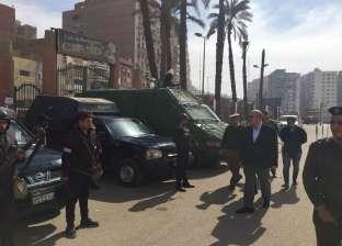 بالصور| مدير أمن أسيوط يتفقد التمركزات الأمنية بالمحافظة