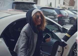السفير الفرنسي يكرم سميرة سعيد في Middle East Fashion Festival