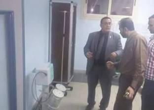بالصور| لجنة من الصحة تزور مستشفى عزبة البرج وإحالة المتغيبين للتحقيق