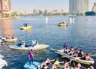 """""""حماية النيل"""": جمعنا 35 طن مخلفات فى 8 شهور أغلبها بلاستيك"""