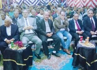 مؤتمر حاشد لدعم السيسي بحي كفر المنصور في المنيا