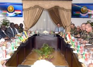 وزير الدفاع لمستشار رئيس جنوب السودان: التعاون ضرورة لمواجهة التحديات
