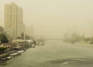 """""""الأرصاد"""": أتربة ورمال تصل لحد العاصفة.. والصغرى في القاهرة 15 درجة"""
