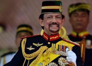 سلطان بروناي يغادر القاهرة بعد لقائه الرئيس السيسي