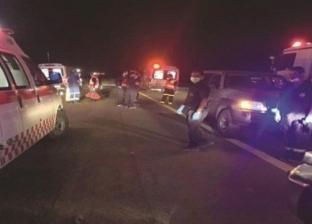 إصابة 4 سائحين بولنديين إثر حادث تصادم أتوبيس في مرسى علم