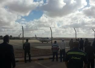 """وصول أول طائرات """"الرالي"""" مطار مطروح"""
