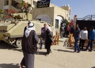 القيادات الأمنية تقدم الشكر لأهالي سيناء لمشاركتهم في الانتخابات