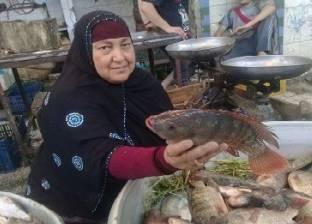 تجار سمك «ساقية مكى»: «نبيع بأرخص الأسعار ومش لاقيين زباين»
