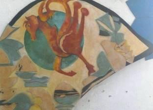 بالصور  لوحات فنية لتجسيد الموروثات الشعبية في مصر