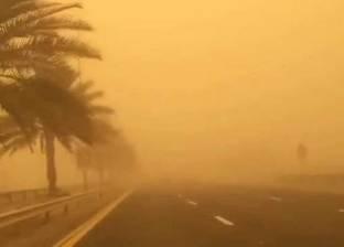 مرور الأقصر يغلق الطرق الصحراوية بسبب العاصفة الترابية