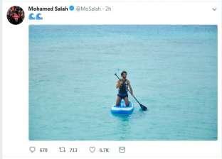 """أحمد حسن كوكا يتحدى محمد صلاح في """"المالديف"""": """"هتضرب هنضرب"""""""