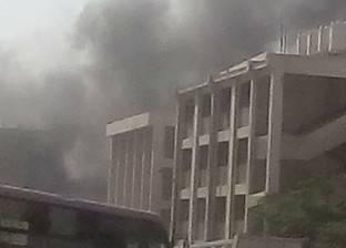 القوات المسلحة تسيطر على حريق هائل بمصنع أحذية في الإسماعيلية