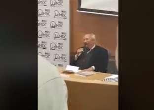 فلسطينيون يهاجمون سعد الدين إبراهيم داخل جامعة تل أبيب: حقير ومطبع