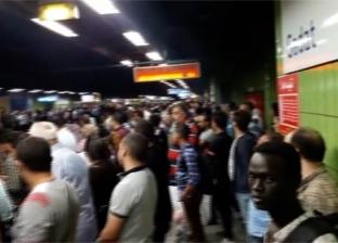 المترو: 4 قطارات إضافية لمواجهة زحام الركاب بالخط الثاني