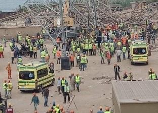 عاجل.. النيابة تصرح بدفن ضحايا برج كهرباء أوسيم