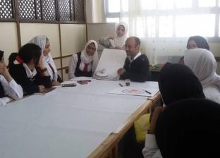 تواصل فعاليات ورش الفنون التشكيلية بإدارة الموهوبين في جنوب سيناء
