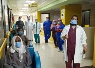 تعافي 10 حالات من كورونا في مستشفى إسنا