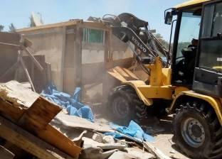 حي شرق بالإسكندرية يشن حملة لإزالة الأكشاك المخالفة